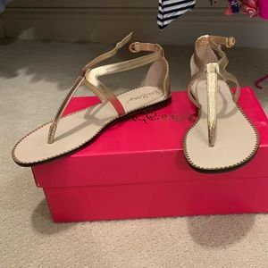 BRAND NEW NEVER WORN LILLY PULITZER HEATHER SANDAL